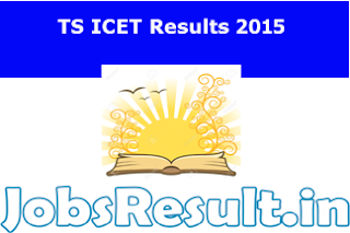 TS ICET Results 2015