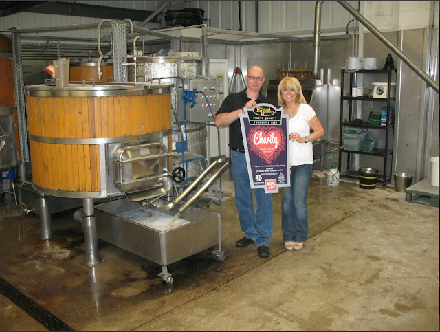 Christine Talbot Elland Brewery Charity