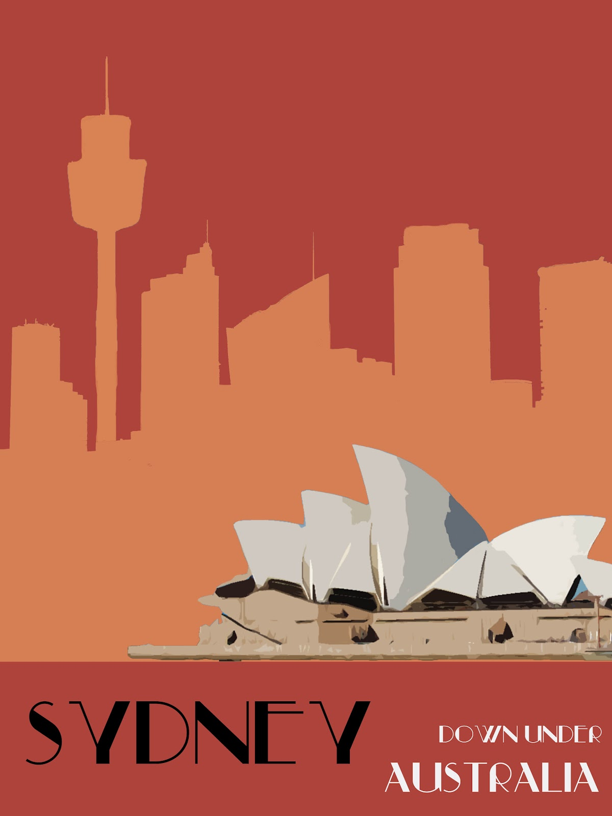 Famous Art Deco Travel Posters | www.imgkid.com - The ...
