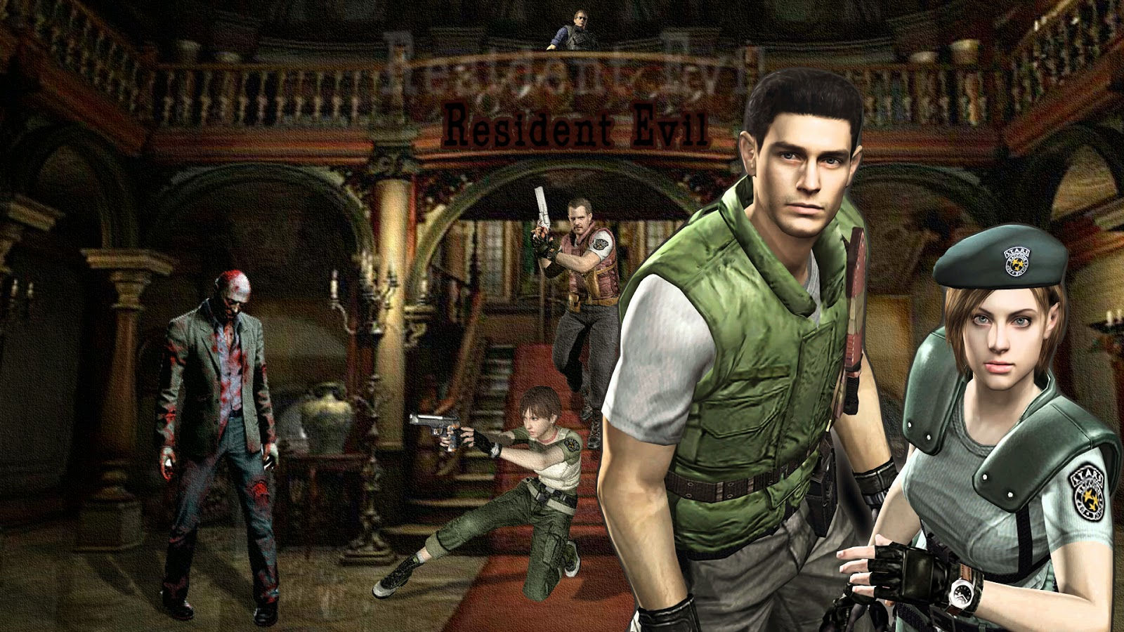 Resident Evil 1 pc version completa, download free Resident Evil 1