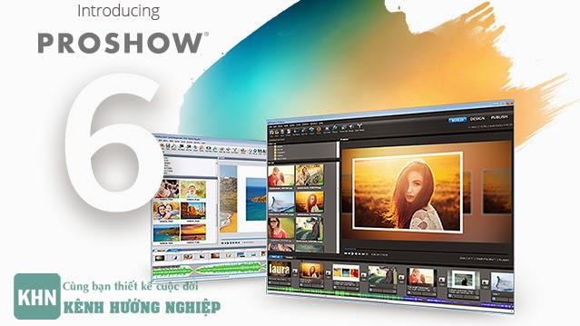 Hướng dẫn cắt ghép nhạc và video bằng Proshow Producer 6.0