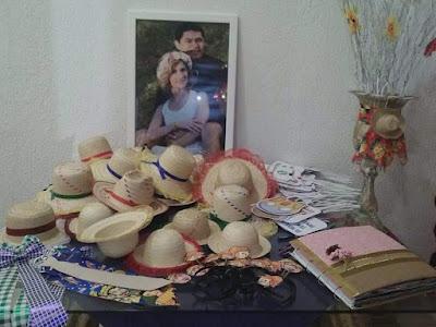 casamento junino, casamento julino, casamento temático, lembrancinhas, chapéu de palha