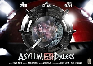 Asylum of the Daleks 'blockbuster' poster BBC marketing