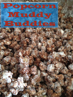 Muddy Buddies Popcorn