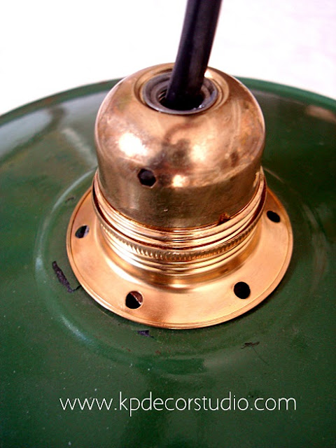 Restauración y venta de lámparas antiguas listas para su colocación