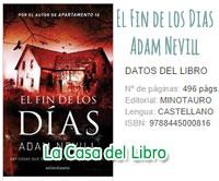 adam nevill, book, el fin de los dias, libro, literatura, templo de los ultimos dias, reseña, review