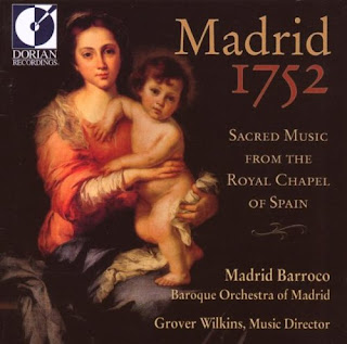 Madrid 1752: Sacred Music From Royal Chapel Spain