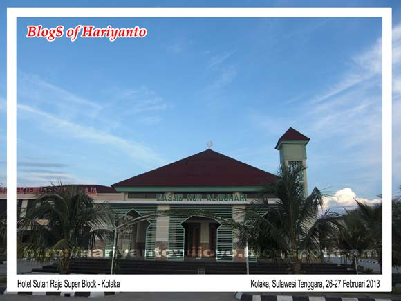 Hotel Sutan Raja Super Block Kolaka Sulawesi Tenggara