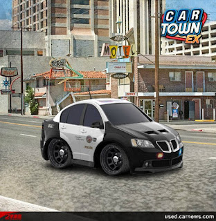 Pontiac G8 2009 Police