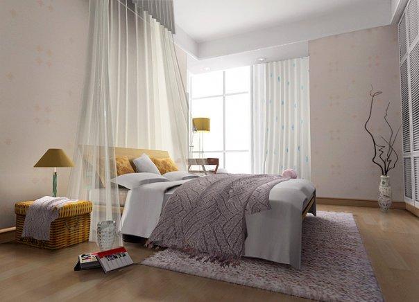 warna cat kamar tidur minimalis desain gambar furniture