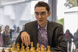 Echecs à Sao Paulo : Fabiano Caruana (2773) - photo site officiel