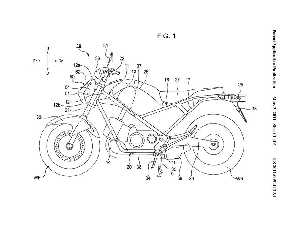 moto design e passioni  honda automatica spyshot
