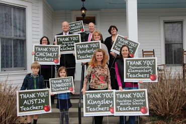 <b>Thanks Dunwoody Teachers!!!</b>