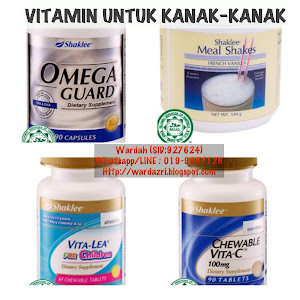 VITAMIN UNTUK KANAK-KANAK