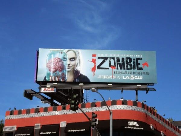 iZombie season 1 billboard