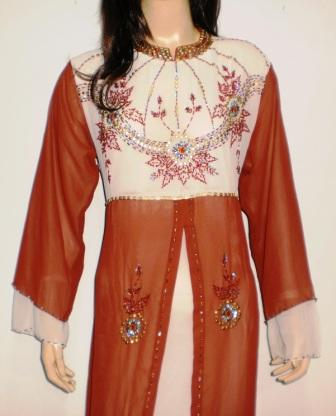 Gamis Pesta Cantik Gp023 Grosir Baju Muslim Murah Tanah