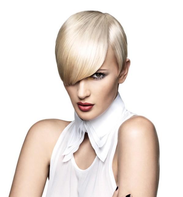 frisur langer bob blond