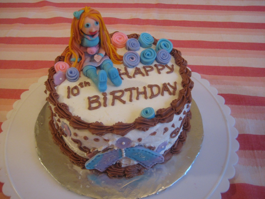 Spicebuds Bloom Fairy Birthday Cake For Winx Club Fan