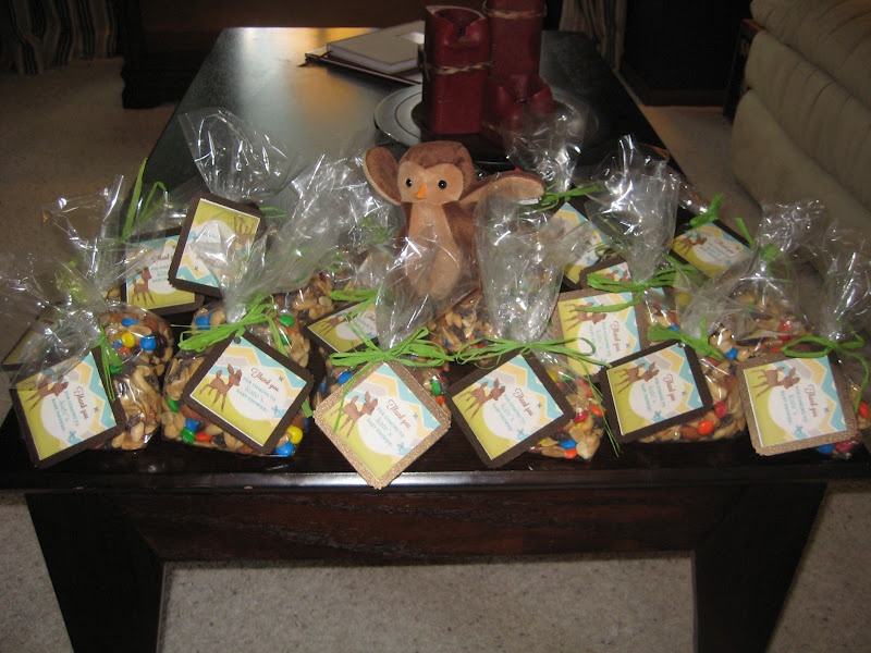the desires of my heart my woodland baby shower