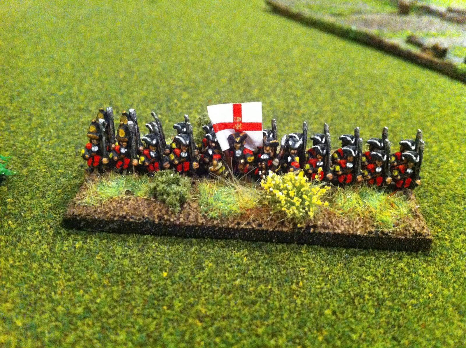 6mm War of spanish succession Bavarian Army