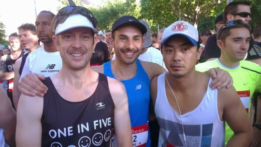 My running mates for City2Sea