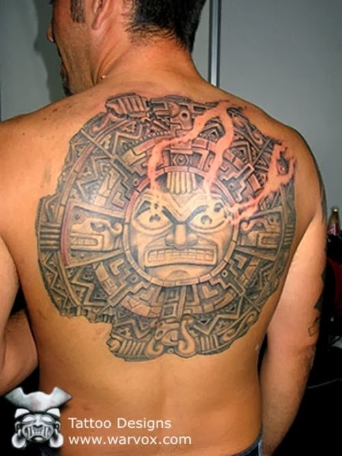 Aztec Symbol For Strength Tattoo Aztec tattoos design images