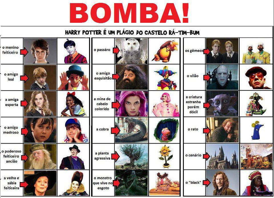 Harry Potter vs Castelo Rá-Tim-Bum