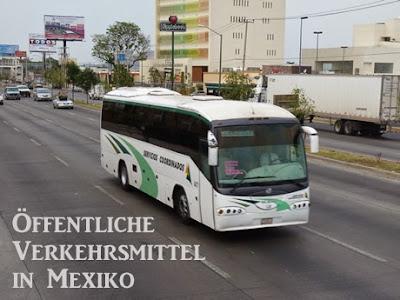 Öffentliche Verkehrsmittel in Mexiko