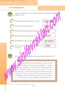 6.Sinif  Turkce Doku Yayinlari Ogrenci Calisma Kitabi Sayfa 52