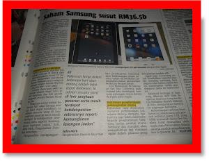 Samsung vs Apple. Jenama Malaysia Nu-Prep 100 Terjamin paten di pejabat US,EUpatent