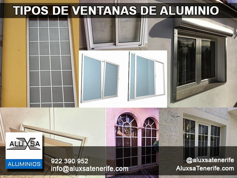 Casas cocinas mueble tipos de ventanas aluminio for Tipos de aluminio para ventanas