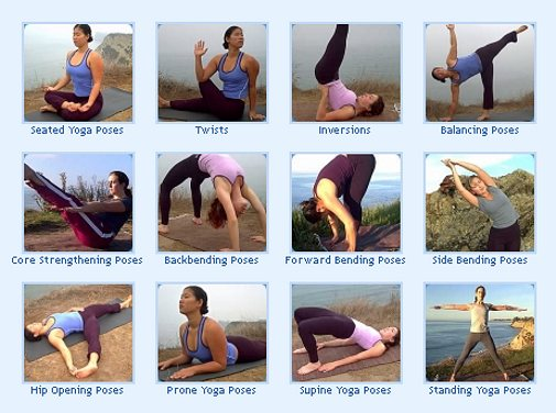 Asanas and its types