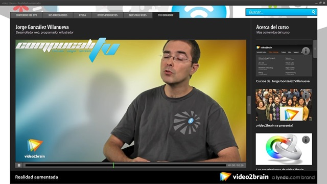 Curso de Realidad Aumentada Español Video2brain
