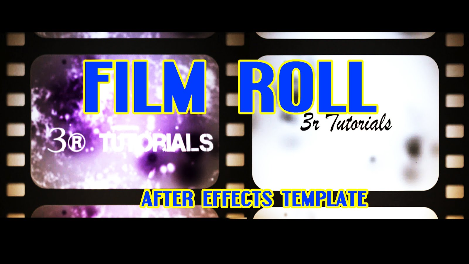free adobe after effects templates - film roll free adobe after effects intro templates cs4