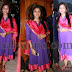 Amala Paul Purple Color Salwar