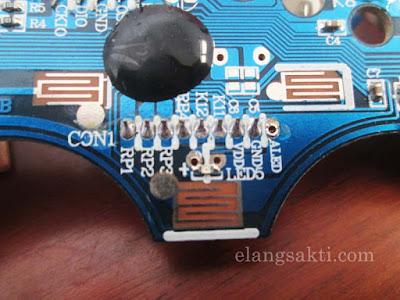 Jalur skema cara kerja joystick