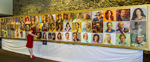 "My recent show ""The Face of Ventura"" at The Museum of Ventura County, Martha K.  Smith Pavilion"