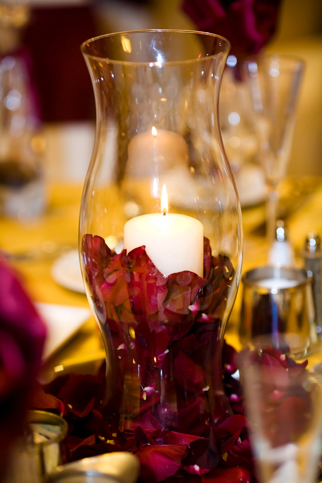 Flowers by erin attractive quot budget friendly centerpiece