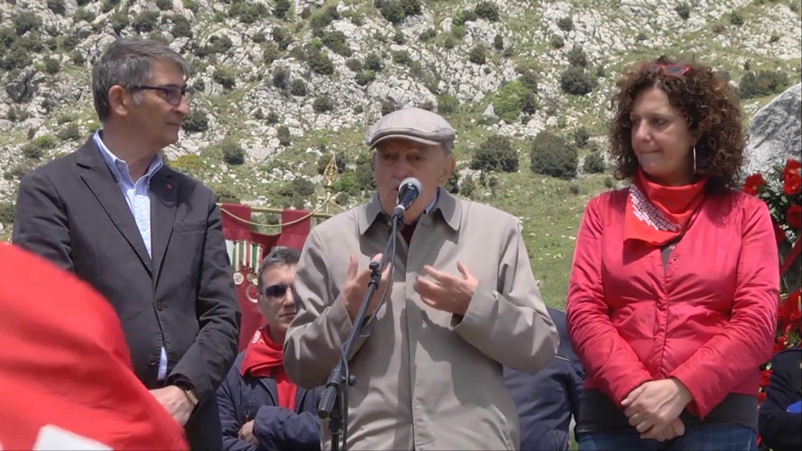 Emanuele MACALUSO a Portella della Ginestra il Primo Maggio 2019