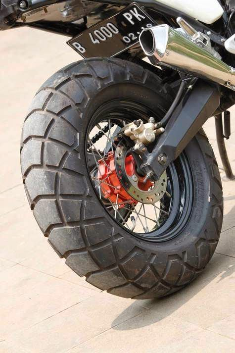 Modif Yamaha Scorpio Gahar Ala Dirt Bike