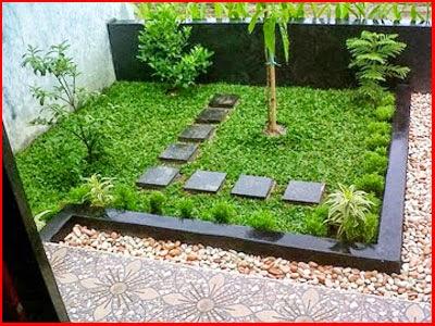 gambar taman belakang rumah minimalis modern tips