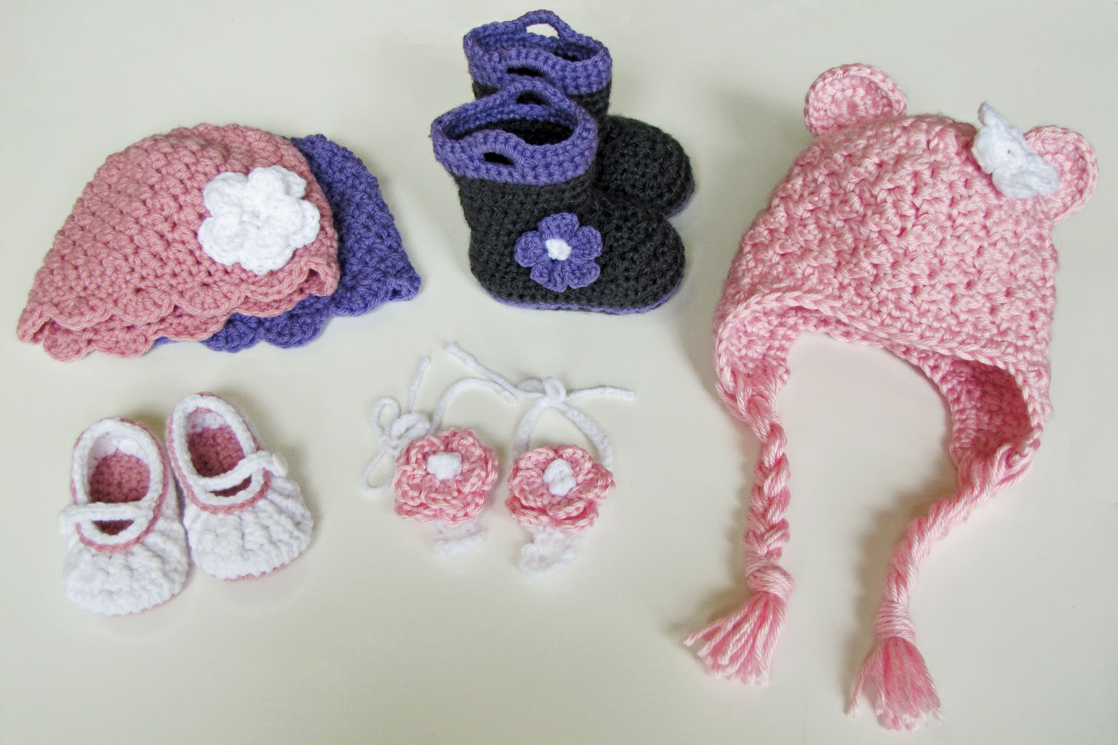 Crocheting Stuff : The Daily Pinner: Pin #29 Crocheted Baby Stuff