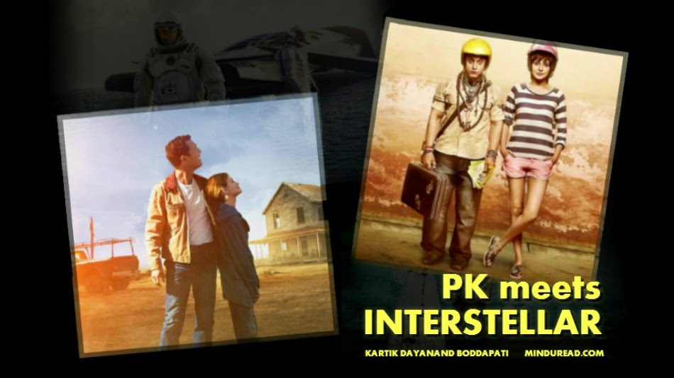 PK meets Interstellar - Kartik Dayanand Boddapati - Mind u Read
