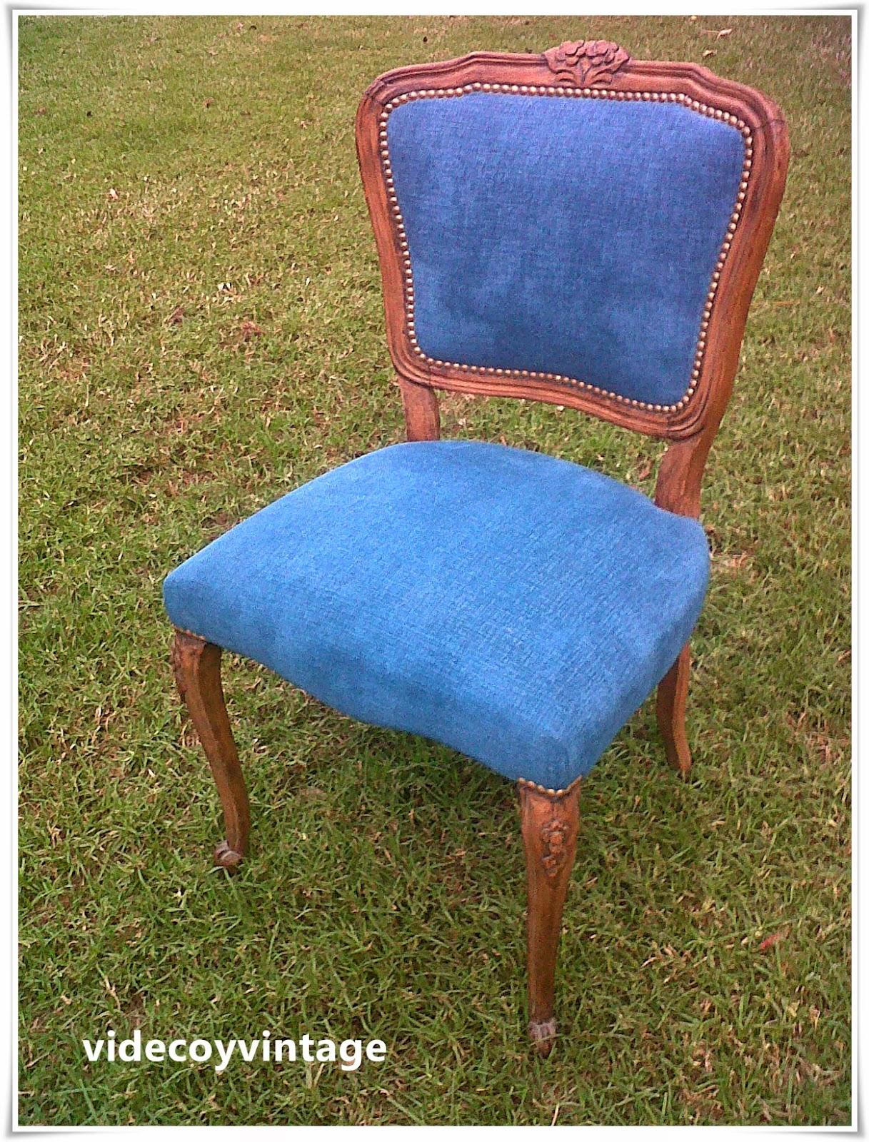 Videcoyvintage deco una silla dos versiones - Sillas estilo provenzal ...