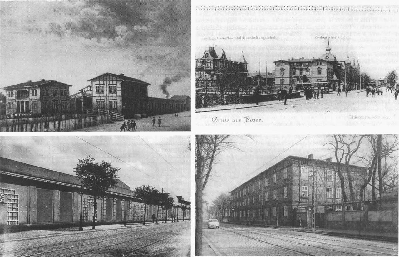 Zwierzyniecka: dawny dworzec kolejowy, zajezdnia tramwajowa