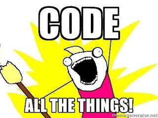 Code things