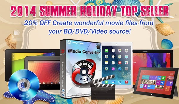 Best gift 20 coupon on pavtube imedia converter for mac