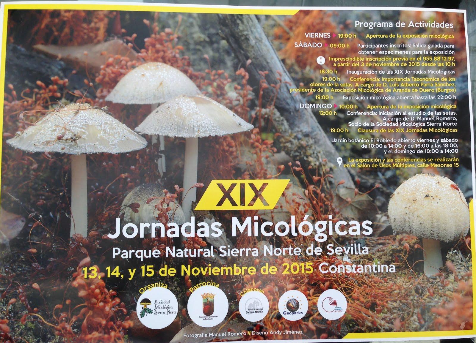 XIX Jornadas Micológicas