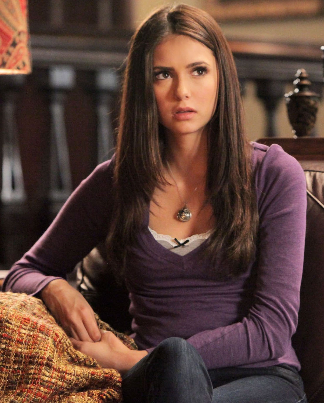 Blushing Beauty Vampire Diaries Fashion Elena Gilbert
