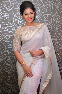 Anjali latest Glamorous pics in saree 028